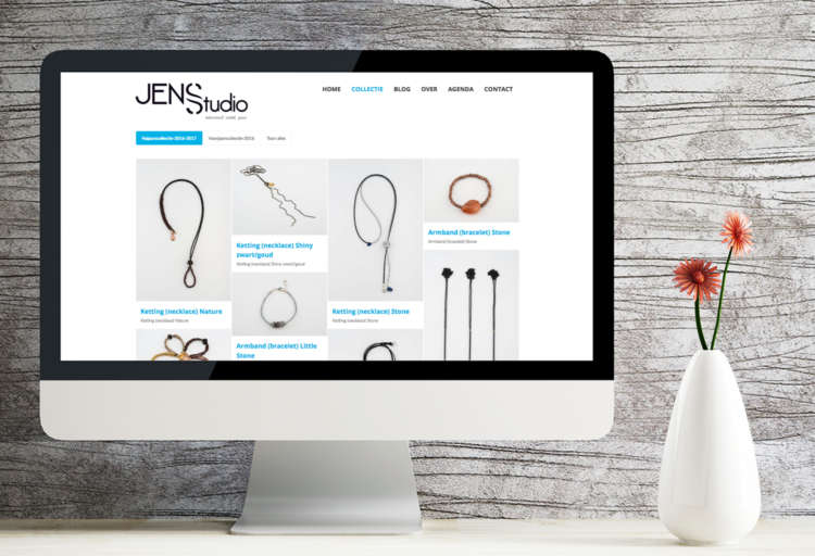 Jensstudio Collectie Website