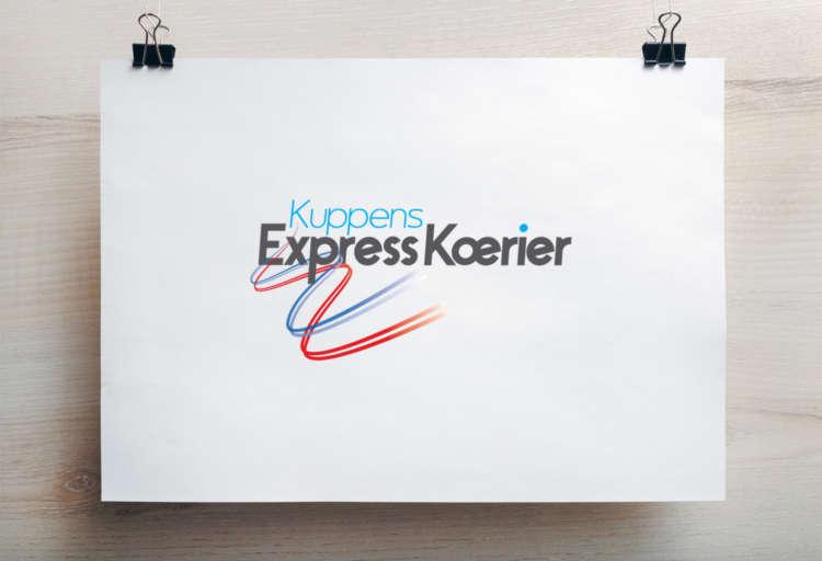 Kuppens Express Koerier Logo