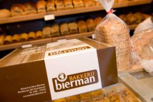 Verpakking Gebakdoos Bakkerij Bierman